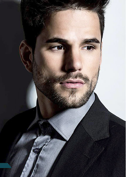 hairstock image of a male model