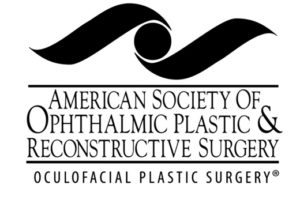 American society of ophthalmic plastic and reconstructive surgery logo